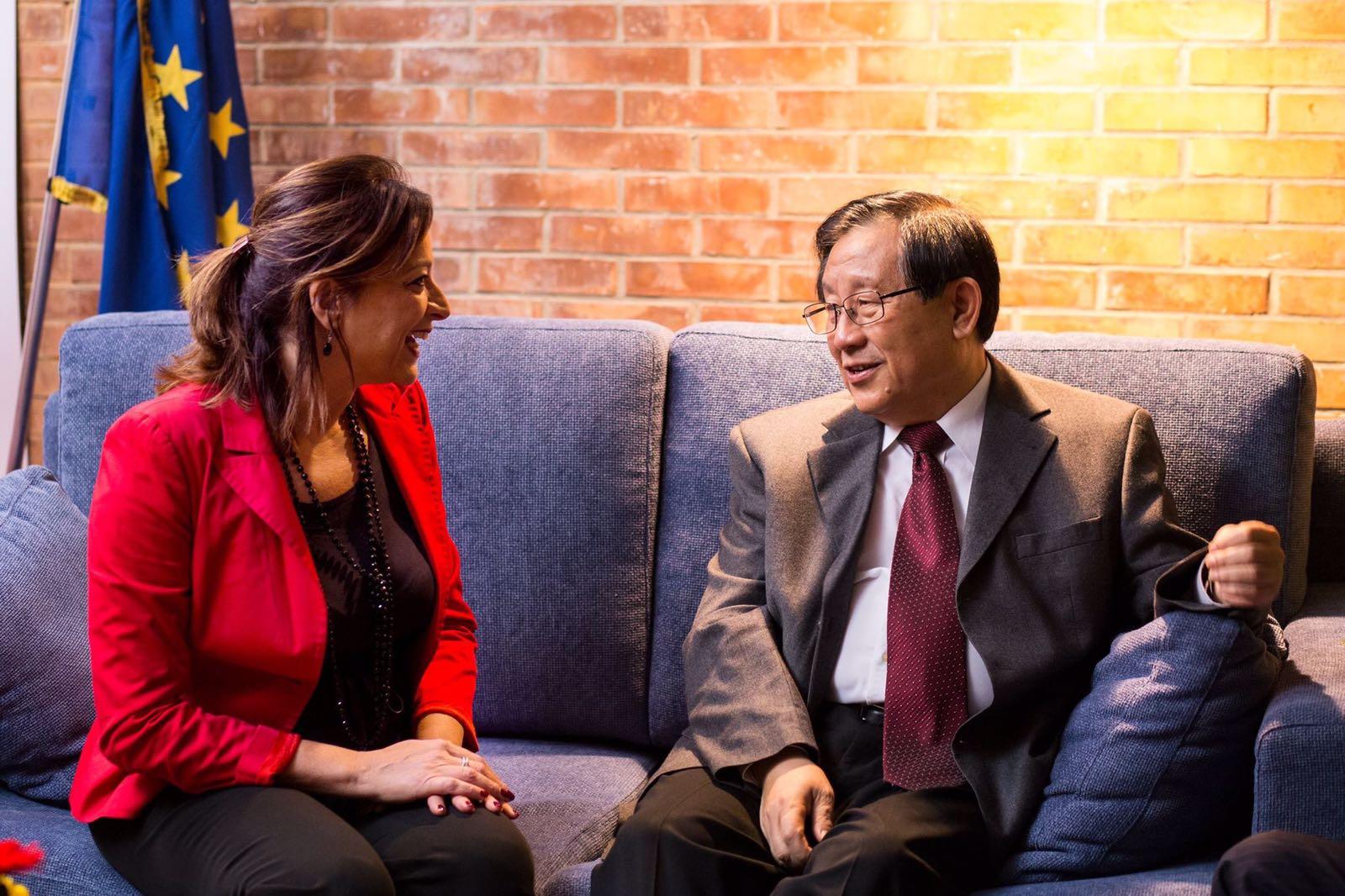 Incontro con Wan Gang, ministro della scienza e tecnologia cinese. Cina e Campania, insieme per valorizzare i talenti!
